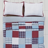 Brighton Twin Quilt 86x68 - 25667 by VHC Brands