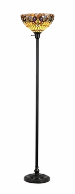 Brilliant Contemporary Styled Torchiere Floor Lamp by Chloe Lighting