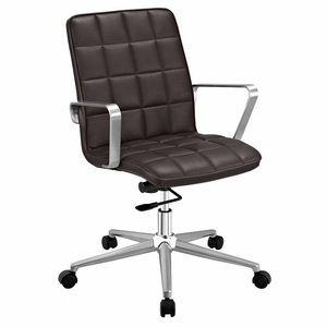 Brown Tile Office Chair