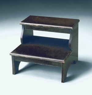 """Brushed Sable Step Stool 18""""W by Butler Specialty"""
