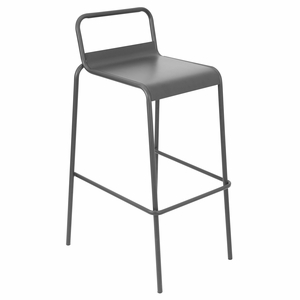 BS-TW-VIC-GY2 Victor Stackable Barstool - Set Of 2
