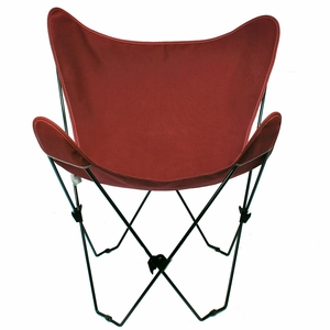 Burgundy Replacement Cover for Butterfly Chair by Algoma