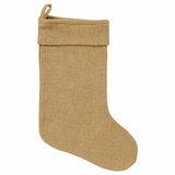 Burlap Natural Stocking 11x15 - 6173 by VHC Brands