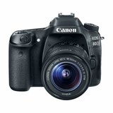 CANON EOS 80D W/ EF 18-55MM IS LENS KIT