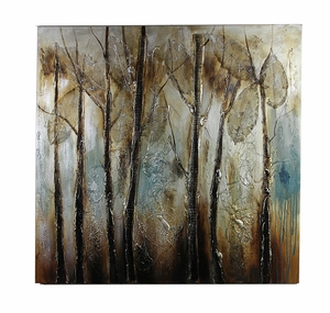 Captivating Canvas Oil Painting   - EN110965 by Benzara