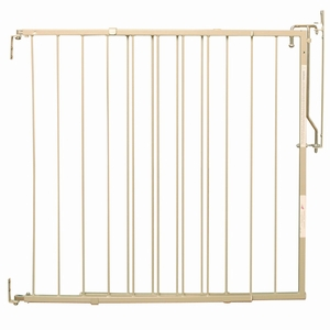 "Cardinal Gates Duragate Hardware Mounted Dog Gate Taupe 26.5"" - 41.5"" x 29.5"""