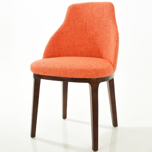 Buy caroline dining chair in orange at for Wild orchid furniture