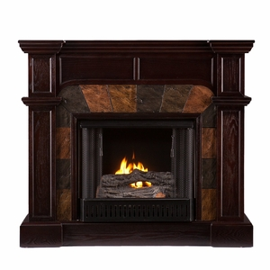 Cartwright Convertible Gel Fireplace - Classic Espresso