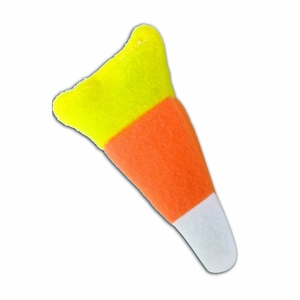 Cat 'n Around - Non Refillable (on Hang Tag) Candy Corn Catnip Toy