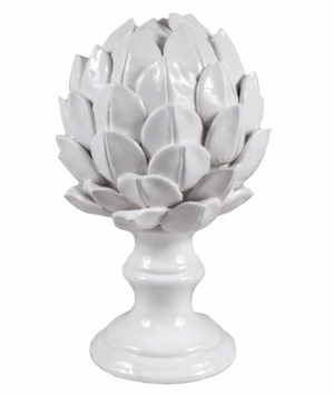 Ceramic Artichoke Finial