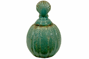 Ceramic Canister Clam of Shell Collection