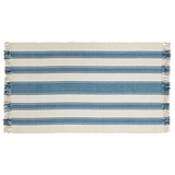 Charlotte Blue Rug 36x60 - 25933 by VHC Brands