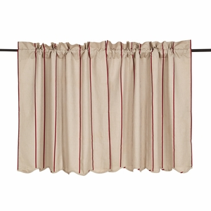 Charlotte Rouge Scalloped Tier Set of 2 36x36 - VHC Brands 25790