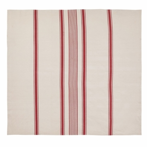 Charlotte Rouge Table Cloth 57x60 - 25793 by VHC Brands