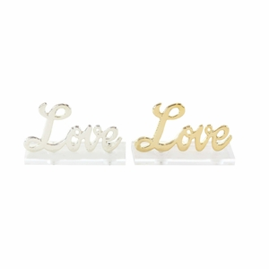 Charming Love Sign, 2 Assortment - 98432 by Benzara