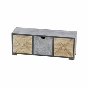 Chest With Drawers And Knobs For Extra Storage Space - 98775 by Benzara