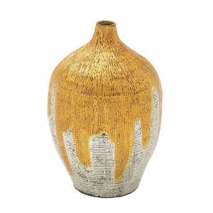 Chic Lacquer Bamboo Vase - 49090 by Benzara