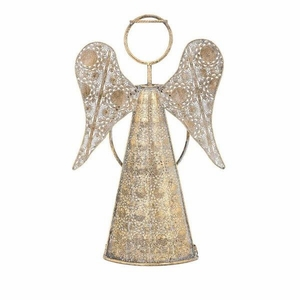 Christmas Natalia Large Angel - Gold - Benzara