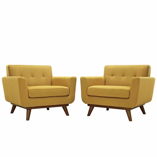 Buy citrus engage armchair wood set of 2 at for Wild orchid furniture