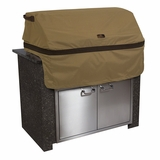 Classic Accessories 55-330-362401-EC Hickory Cover For Built-In Grills, X-Small, Tan