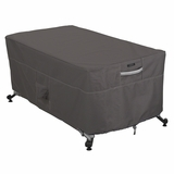 Classic Accessories 55-598-015101-EC Ravenna Rectangular Fire Table Cover, 56-Inch