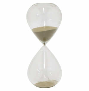 Classic Glass Sand Timer 2 Hours - San