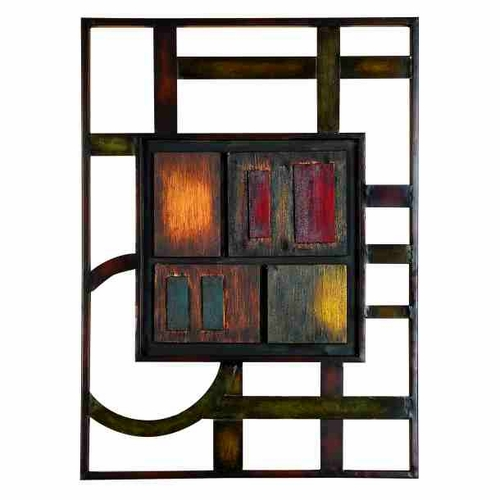 Metal Wall Decor Clearance : Buy koko metal wall decor sculpture at wildorchidquilts