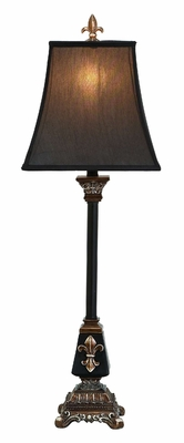 POLYSTONE LAMP AdecorATIVE LIGHT WITH DIFFERENCE - 49964 by Benzara