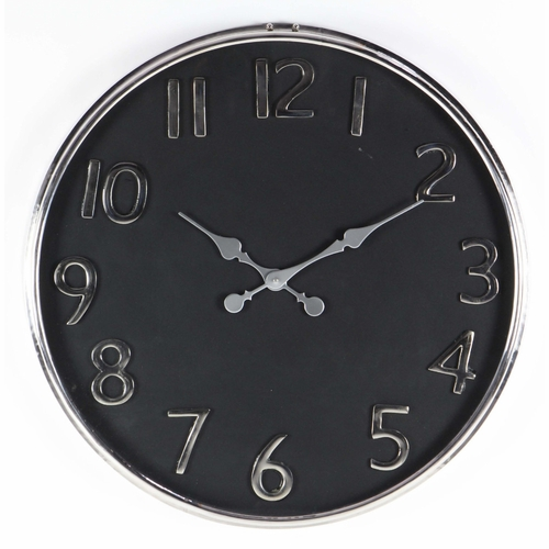 buy classic stainless steel wall clock at. Black Bedroom Furniture Sets. Home Design Ideas