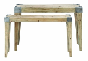 Classic Wooden Console Table With Soothing And Warm Effect - 53172 by Benzara