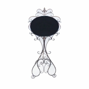 Classy Metal Sign with Stand - Benzara