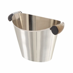 Classy Stainless Steel Horn Wine Cooler - 98065 by Benzara