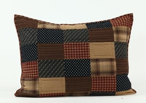 Classy Styled Patriotic Patch Luxury Sham by VHC Brands