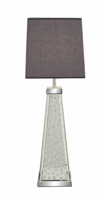 Classy Styled Wood Mirror Table Lamp - 87294 by Benzara
