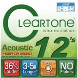 Cleartone Acoustic.012-.053 Light Strings