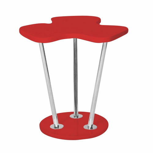 Buy clover side table red by lumisource at for 126 incorrect key file for table