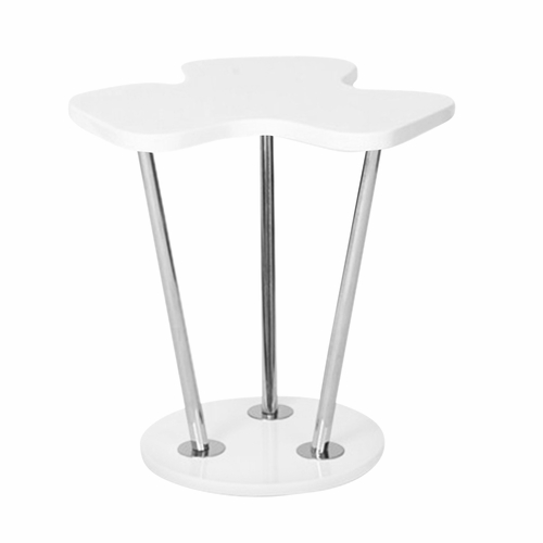 Buy clover side table white by lumisource at for 126 incorrect key file for table