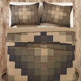 Coal Creek Twin Quilt 90X70 - 25283 By Vhc Brands