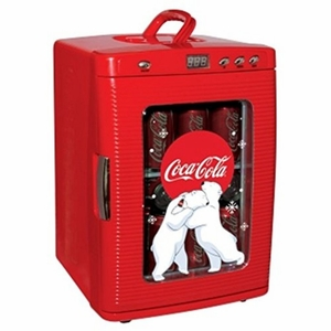 Coca-Cola Fridge - Red