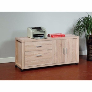 Coherence Utility File Credenza, Brown