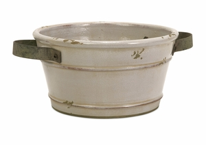 IMAX Colfax Short Pot with Metal Handle