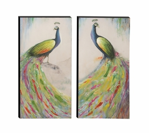 Colorful Canvas Art 2 Assorted - 43929 by Benzara