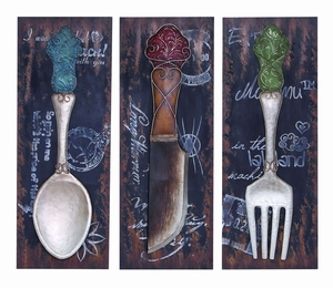 Colorful Flatware And DinnerDecor For The Dining Room - 56116 by Benzara