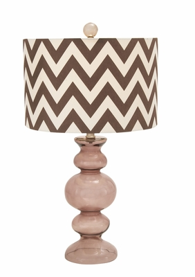 Compelling elegant Styled Glass Table Lamp - 97351 by Benzara