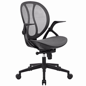 Conduct All Mesh Office Chair, Gray