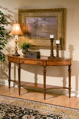 Butler Specialty Demilune Console