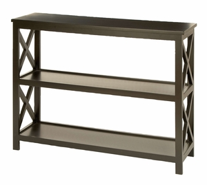 Grand Wood Console Table - 62545 by Benzara