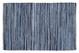 Contemporary Styled Denim & Hemp Chindi/Rag Rug Rect by VHC Brands