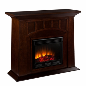 Contemporary Styled Eco Friendly Lowery Electric Fireplace by Southern Enterprises