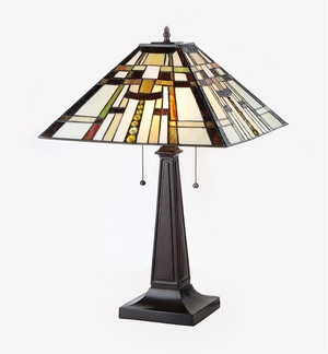 Chloe Lighting Contemporary Styled Fascinating Mission Table Lamp